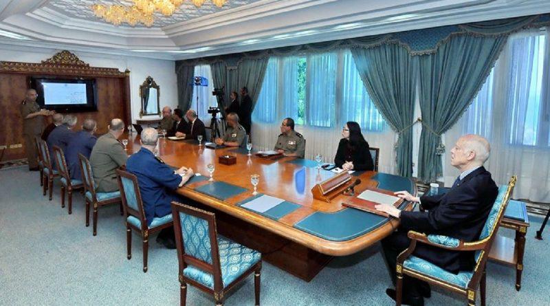 رئيس الجمهورية قيس سعيد يشرف على اجتماع لجنة قيادة تجسيد مشروع مدينة الأغالبة الطبية بالقيروان،