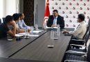 """وزير الشؤون المحلية لطفي زيتون يستقبل رئيس جمعية """"بوصلة"""" السيد سليم"""