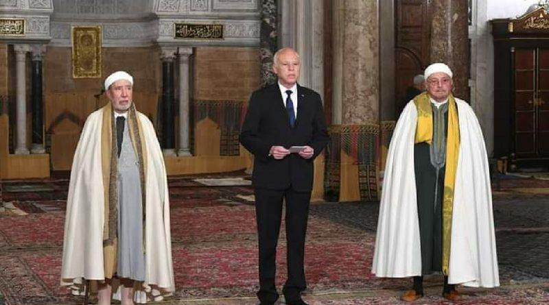 رئيس الجمهورية قيس سعيد يهنئا التونسيون و التونسيات و الأمة الاسلامية قاطبة بحلول الشهر المعظم